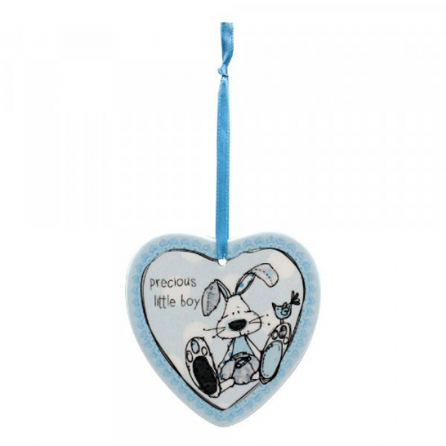 Boy Heart Plaque